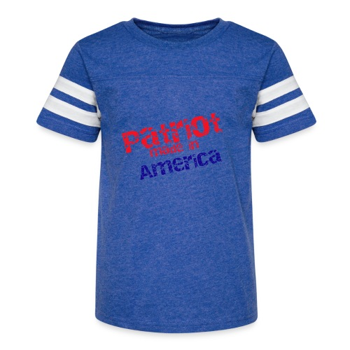 Patriot mug - Kid's Vintage Sport T-Shirt