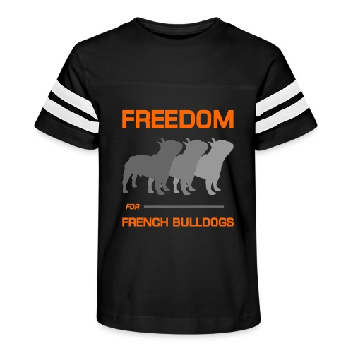 French Bulldogs - Kid's Vintage Sport T-Shirt