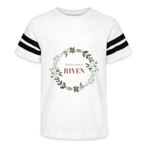 Kristy hates Riven - Kid's Vintage Sport T-Shirt