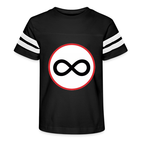 Infinity sign red circle - Kid's Vintage Sport T-Shirt