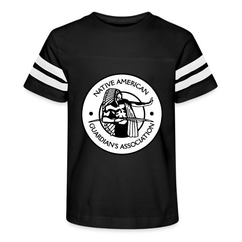 NAGA Logo - Kid's Vintage Sport T-Shirt