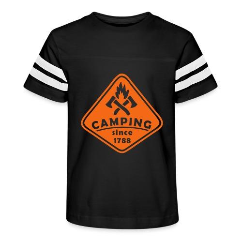 Campfire - Kid's Vintage Sport T-Shirt
