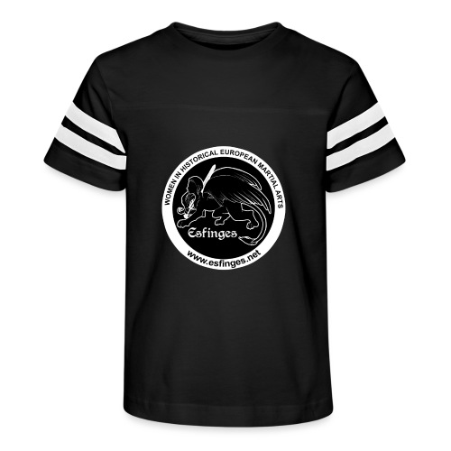 Esfinges Logo Black - Kid's Vintage Sport T-Shirt
