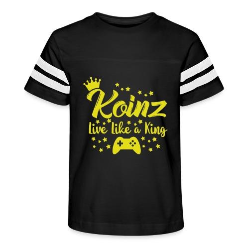 Live Like A King - Kid's Vintage Sport T-Shirt