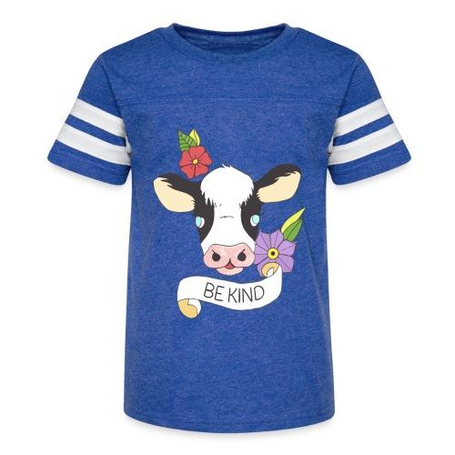 Be kind - Kid's Vintage Sport T-Shirt