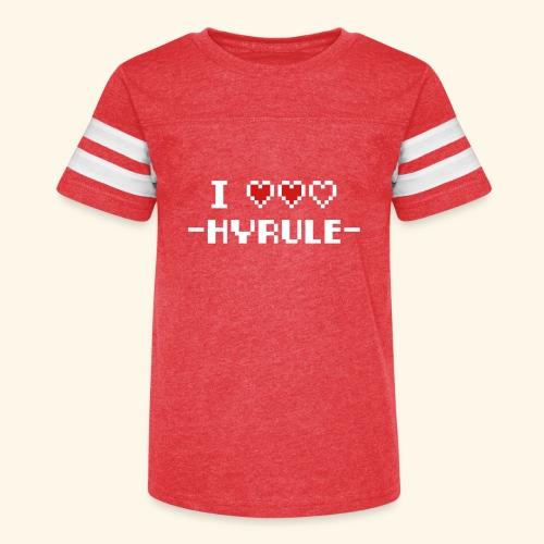 I Love Hyrule - Kid's Vintage Sport T-Shirt