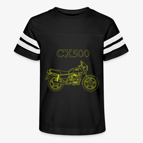 CX500 line drawing - Kid's Vintage Sport T-Shirt