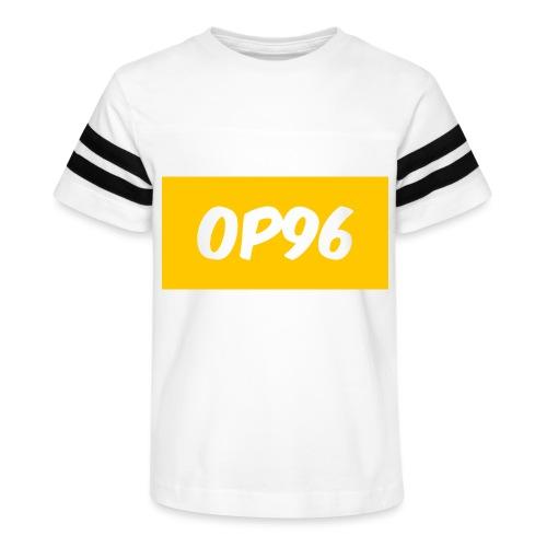 OP96FirstLogo - Kid's Vintage Sport T-Shirt