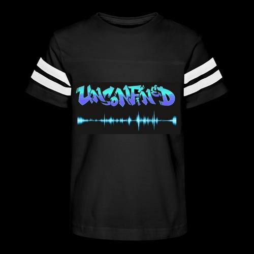 unconfined design1 - Kid's Vintage Sport T-Shirt