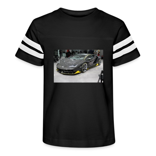 lambo shirt limeted - Kid's Vintage Sport T-Shirt