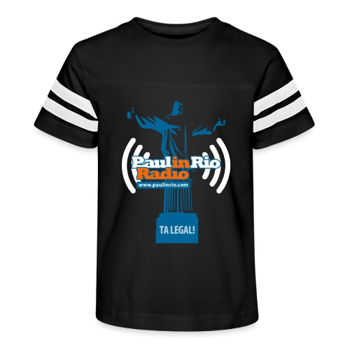 Paul in Rio Radio - The Thumbs up Corcovado #2 - Kid's Vintage Sport T-Shirt