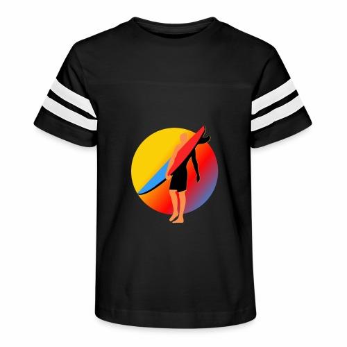 SURFER - Kid's Vintage Sport T-Shirt