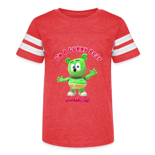I'm A Gummy Bear - Kid's Vintage Sport T-Shirt