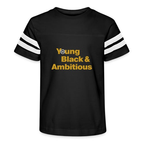 YBA Black and Gold Shirt2 - Kid's Vintage Sport T-Shirt