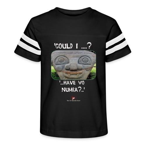 Alien Could I have your Number - Kid's Vintage Sport T-Shirt