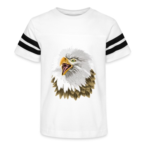 Big, Bold Eagle - Kid's Vintage Sport T-Shirt