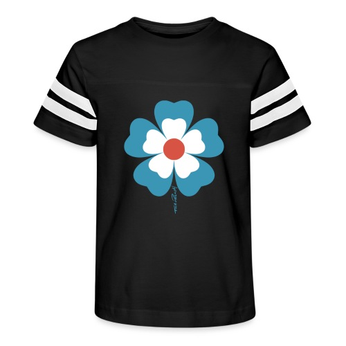 flower time - Kid's Vintage Sport T-Shirt
