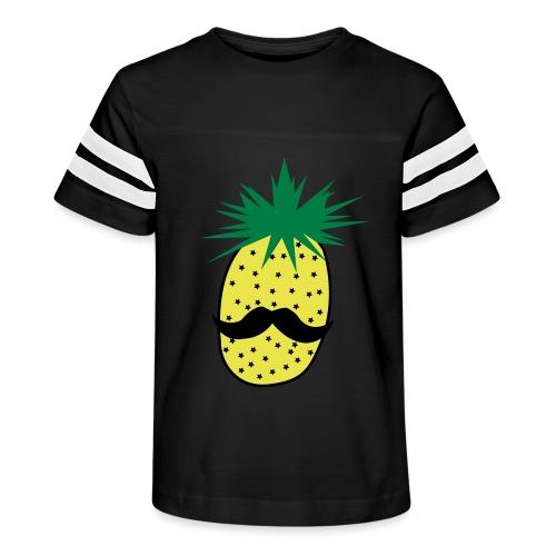 LUPI Pineapple - Kid's Vintage Sports T-Shirt
