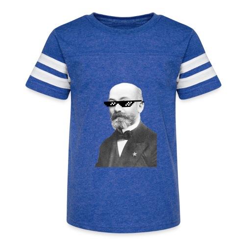 Zamenhof Shades (BW) - Kid's Vintage Sport T-Shirt