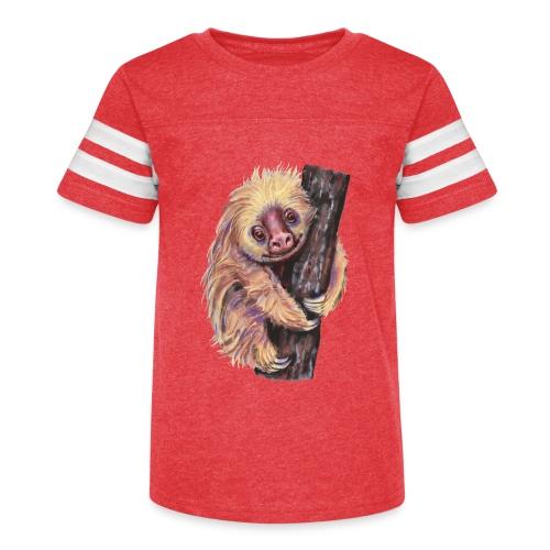 Sloth - Kid's Vintage Sport T-Shirt