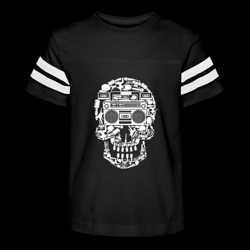 Audio Skull - Kid's Vintage Sport T-Shirt