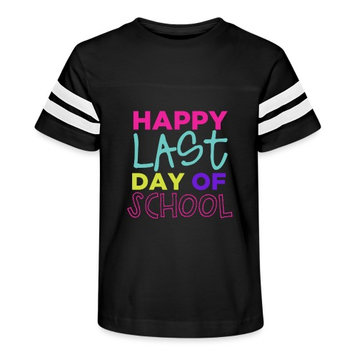 Happy Last Day of School Fun Teacher T-Shirts - Kid's Vintage Sport T-Shirt