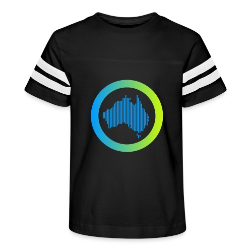Gradient Symbol Only - Kid's Vintage Sports T-Shirt