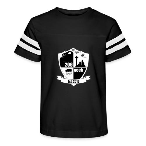 206geek podcast - Kid's Vintage Sports T-Shirt