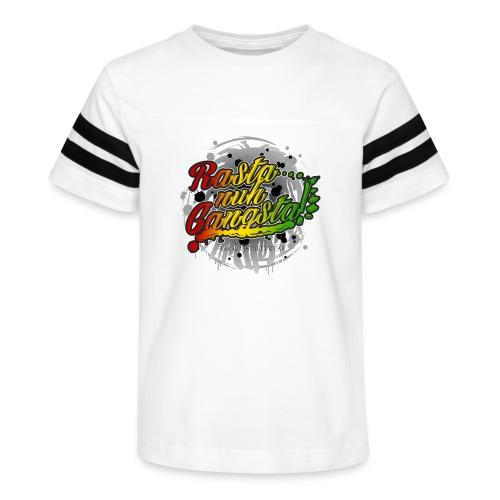 Rasta nuh Gangsta - Kid's Vintage Sport T-Shirt
