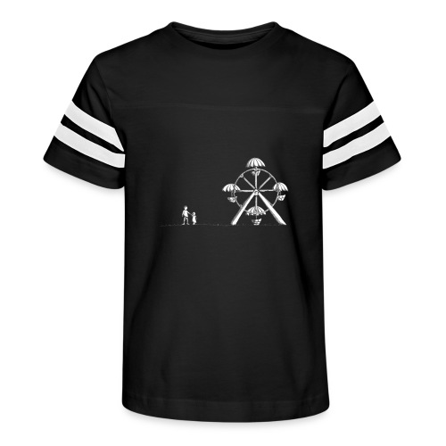 Ferris Wheel - Kid's Vintage Sport T-Shirt