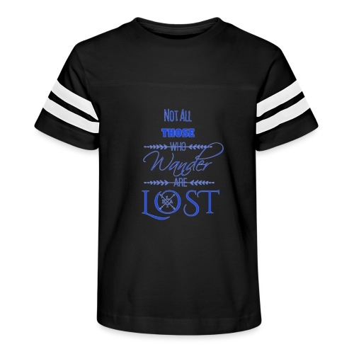 LTBA Not All Those Who Wander Are Lost - Kid's Vintage Sport T-Shirt