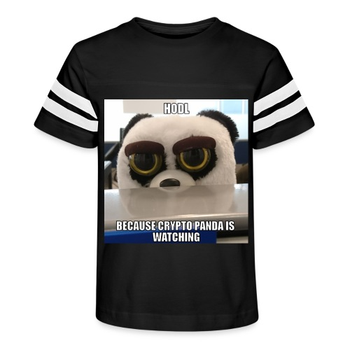 Crypto Panda Is Watching - Kid's Vintage Sport T-Shirt