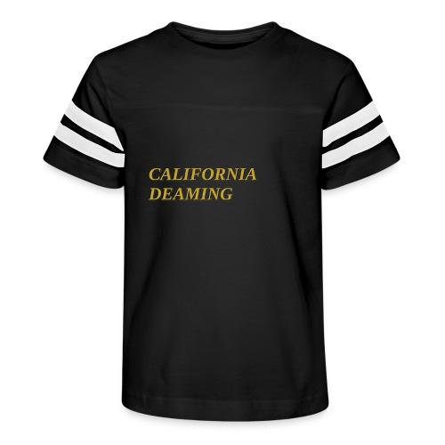 CALIFORNIA DREAMING - Kid's Vintage Sport T-Shirt