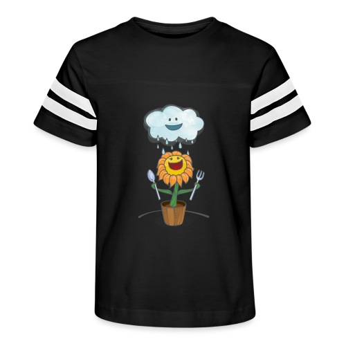 Cloud & Flower - Best friends forever - Kid's Vintage Sport T-Shirt