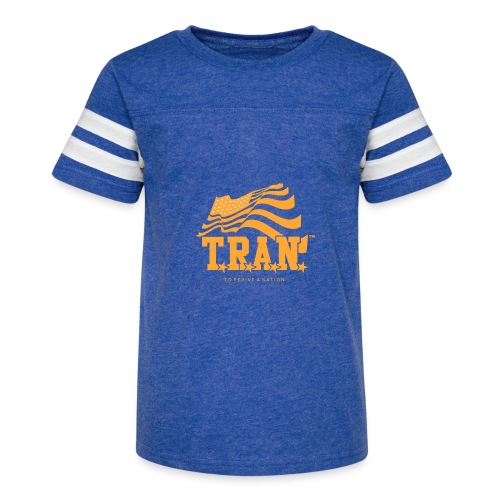 TRAN Gold Club - Kid's Vintage Sport T-Shirt