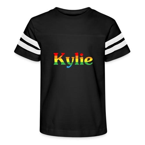 Kylie Minogue - Kid's Vintage Sport T-Shirt