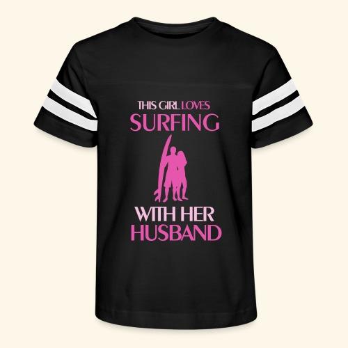 Surf Shirts Womens for Men, Women, Kids, Babies - Kid's Vintage Sport T-Shirt