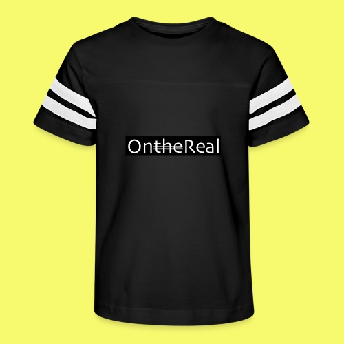 OntheReal coal - Kid's Vintage Sport T-Shirt