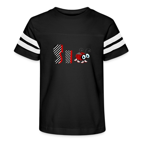 6nd Year Family Ladybug T-Shirts Gifts Daughter - Kid's Vintage Sport T-Shirt