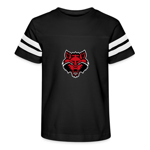 Red Wolf - Kid's Vintage Sport T-Shirt