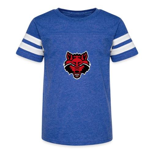 Red Wolf - Kid's Vintage Sport T-Shirt
