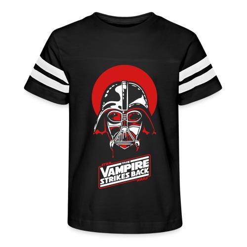 the Vampire Strikes Back - Kid's Vintage Sport T-Shirt
