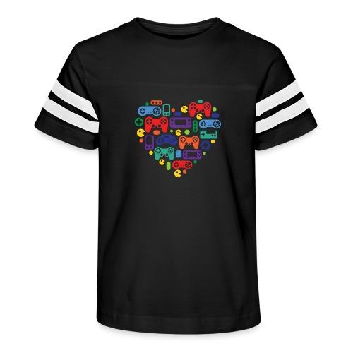 Video Game Love - Kid's Vintage Sport T-Shirt