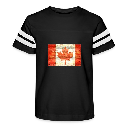 Canada flag - Kid's Vintage Sport T-Shirt