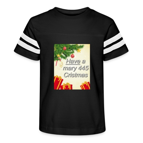 Have a Mary 445 Christmas - Kid's Vintage Sport T-Shirt