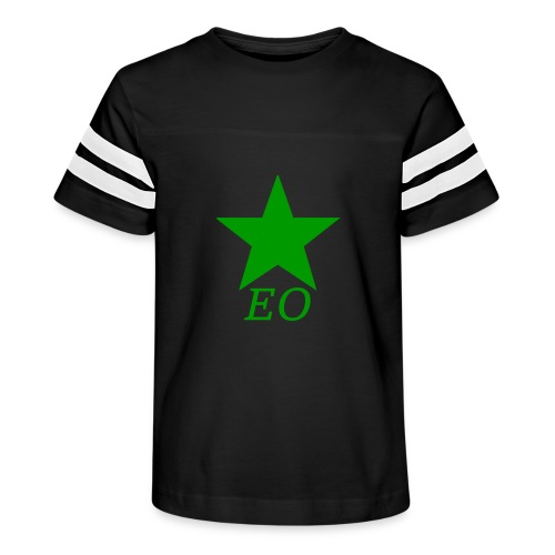 EO and Green Star - Kid's Vintage Sport T-Shirt