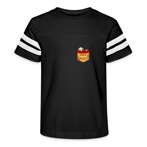 Just feed me pizza - Kid's Vintage Sport T-Shirt