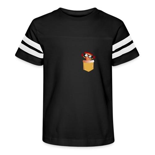 Pizza Lover pocket - Kid's Vintage Sport T-Shirt