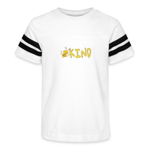 Be Kind - Adorable bumble bee kind design - Kid's Vintage Sport T-Shirt