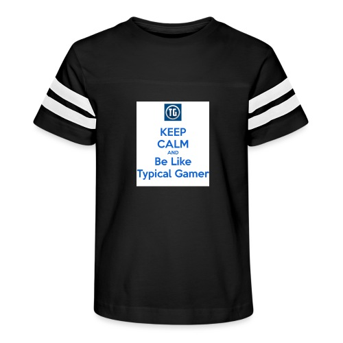 keep calm and be like typical gamer - Kid's Vintage Sport T-Shirt